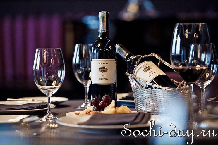 Дегустация вин в Rodina Grand Hotel & SPA