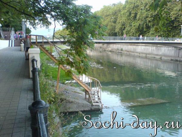 Реки в Сочи: опасно для здоровья!