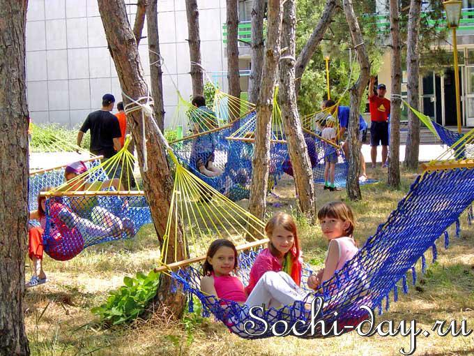 Летний отдых детей в Сочи