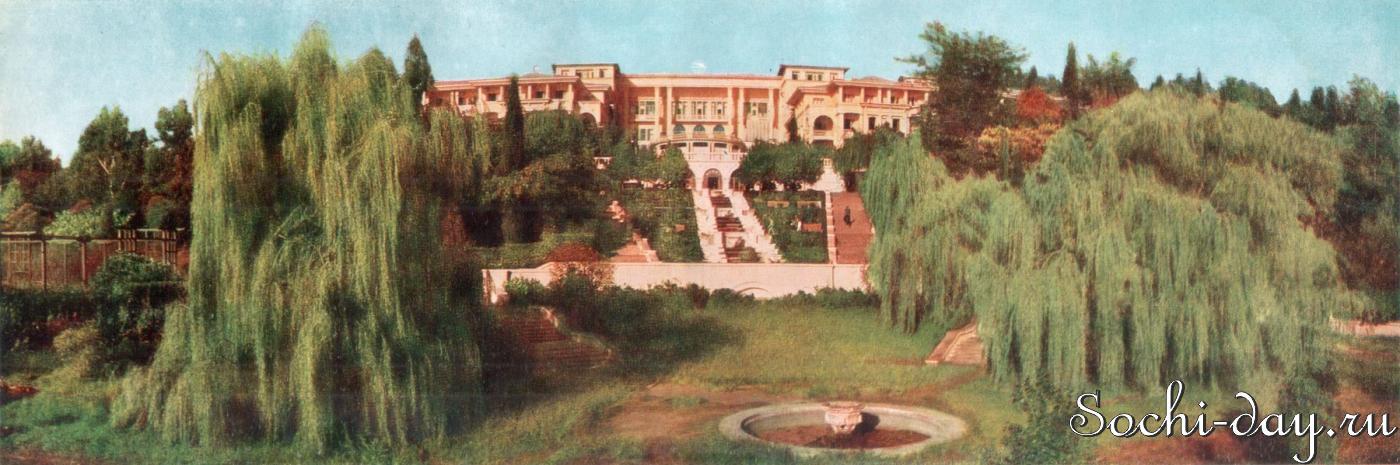Восстановление пансионата Интурист в Сочи