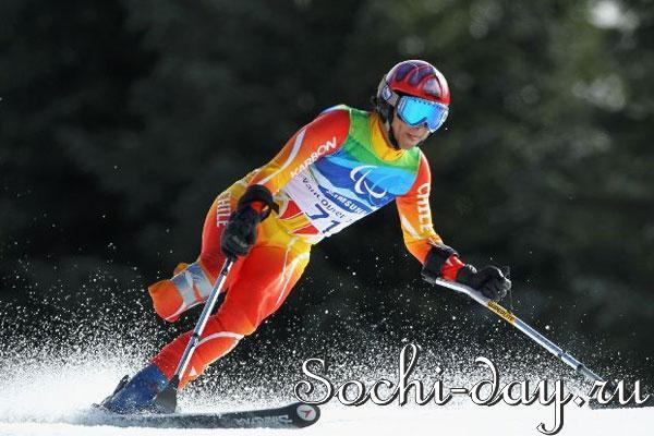 Параалимпийская горнолыжница Инга Медведева выиграла серебро в Сочи