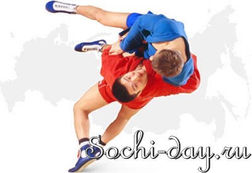 Кубок мира по профессиональному боевому самбо в Сочи